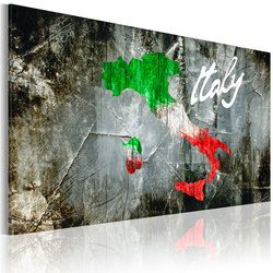 Tablou - Artistic map of Italy