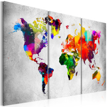 Tablou - Artistic World - Triptych