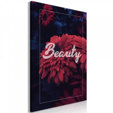 Tablou - Beauty (1 Part) Vertical