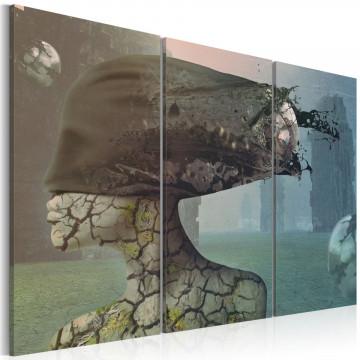 Tablou - Brainstorm - triptych