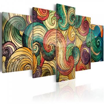 Tablou - Colourful Waves