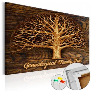 Tablou din plută - Family Tree [Corkboard]