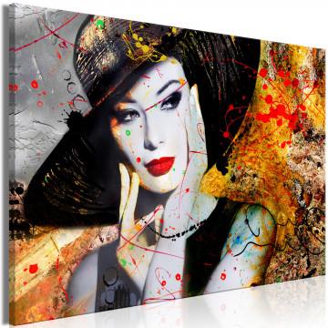 Tablou - Elegant Lady (1 Part) Wide