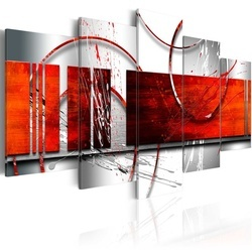 Tablou - Emphasis: red theme