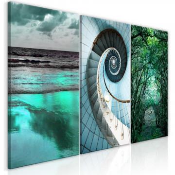 Tablou - Faces of Nature (3 Parts)