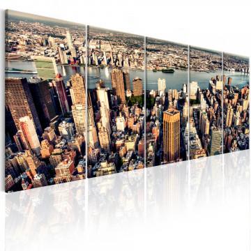Tablou - Flight over New York