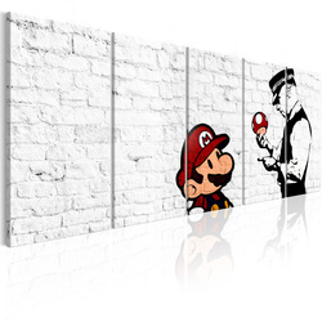 Tablou - Graffiti on Brick