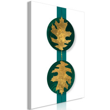 Tablou - Green Wealth (1 Part) Vertical