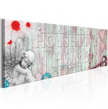 Tablou - Home: House + Love