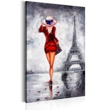 Tablou - Lady in Paris