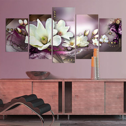Tablou - Magnetic abstraction with an orchid