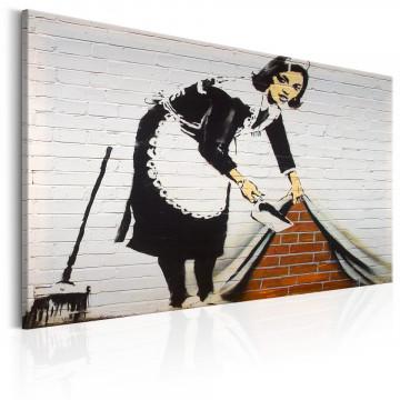 Tablou - Maid in London by Banksy