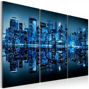 Tablou - Manhattan in blue shade