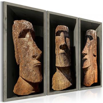 Tablou - Moai (Easter Island)