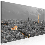 Tablou - Panorama of Paris (1 Part) Narrow