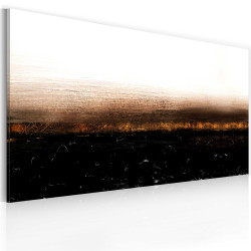 Tablou pictat manual - Black soil (Abstraction)