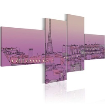 Tablou - Purple Paris