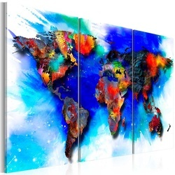 Tablou - Rainbow map