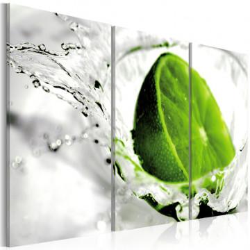 Tablou - Refreshing lime