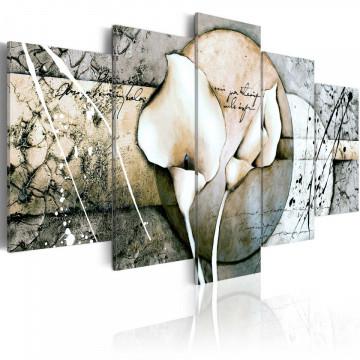 Tablou - The Secret of Calla Lily - Grey