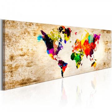 Tablou - World in Watercolours