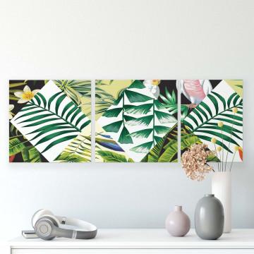 Tropical Canvas Photo Print