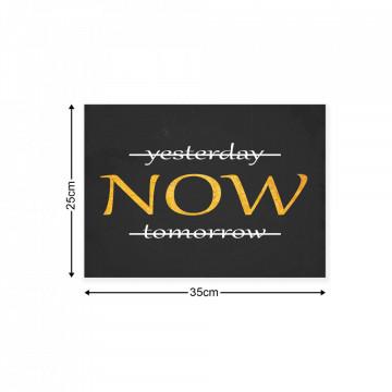 Typographic Canvas Photo Print