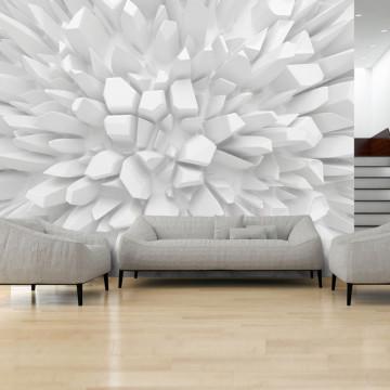 Fototapet - White dahlia