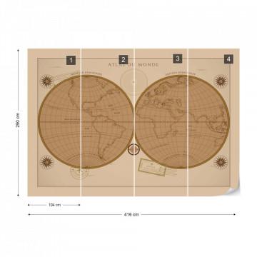 Atlasul Lumii – Aspect Vintage