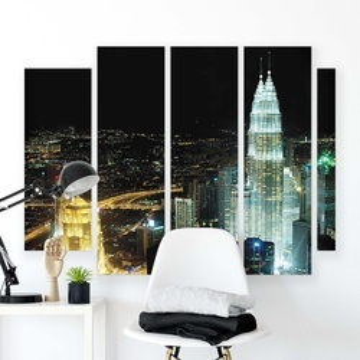 Cities Canvas Photo Print