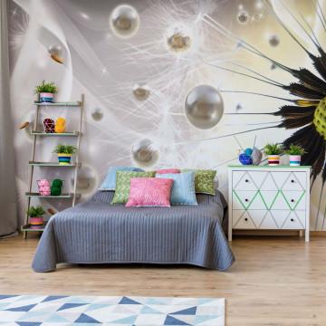 Dandelion Modern Design Photo Wallpaper Wall Mural