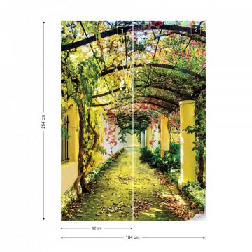 Flowers Floral Garden Photo Wallpaper Wall Mural