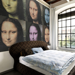 Fototapet - A mystery of Mona Lisa's smile
