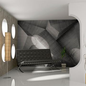 Fototapet - Abstract concrete blocks