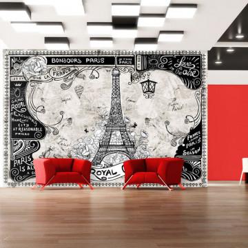 Fototapet - Bonjour Paris