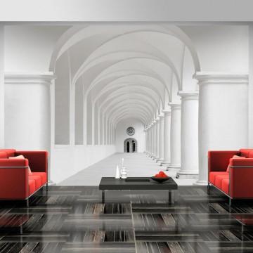 Fototapet - Corridor of uncertainty