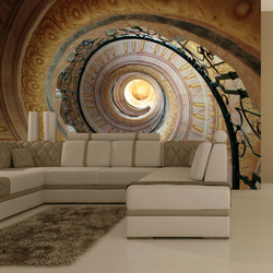 Fototapet - Decorative spiral stairs