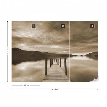 Fototapet - Drumul către Liniște – Sepia