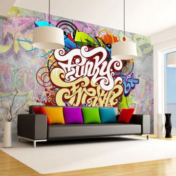 Fototapet - Funky Graffiti