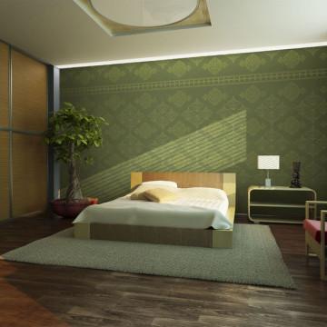 Fototapet - Green Baroque