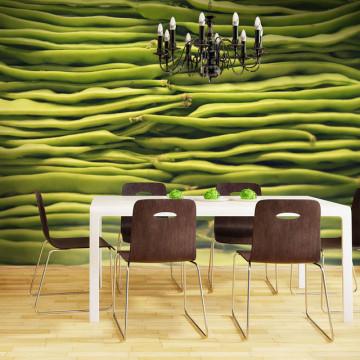Fototapet - Green beans