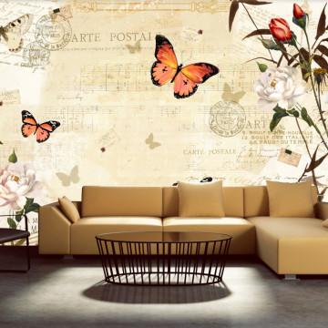 Fototapet - Melodies of butterflies