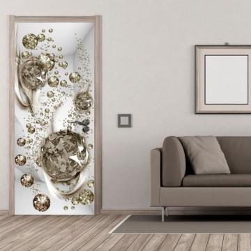 Fototapet pentru ușă - Photo wallpaper - Bubble abstraction I