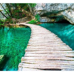 Fototapet - Plitvice Lakes National Park, Croatia