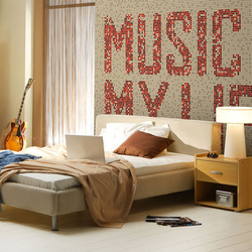 Fototapet - Rock music