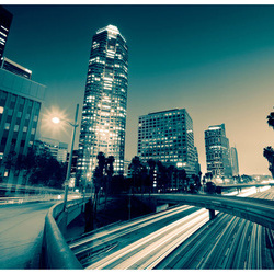 Fototapet - The streets of Los Angeles