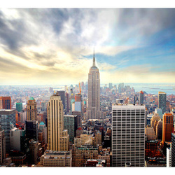 Fototapet - View on Empire State Building - NYC