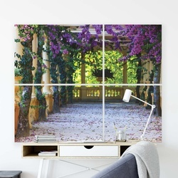 Gardens Canvas Photo Print