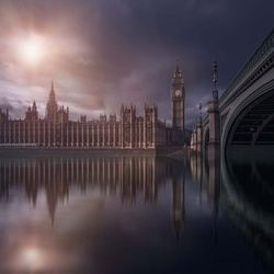House Of Parliament Photo Wallpaper Mural