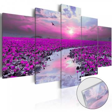 Imagine pe sticlă acrilică - The River of Magic [Glass]